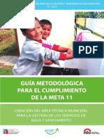 Plan de Incentivos Guia Metodologica Meta 11