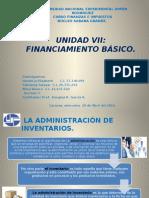 Financiamiento Básico UNIDAD VII, UNESR Núcleo Sabana Grande.