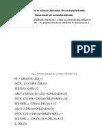 Etapele de Calcul Ân Regim Permament a Sistemului Hidraulic