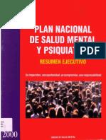 Plan Nacional SM 2000