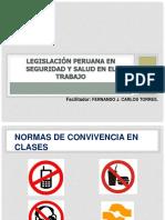 Legislación Peruana en Seguridad y Salud en El Trabajo