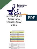 Finanzas CEAP 2015