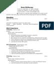 keans resume