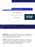 Lecture - Armado ISLM (Slides)