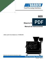 Baader 605 Máquina Destendonadora El Paico