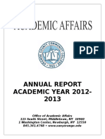 AcademicAffairsYearEndReport2012-2013