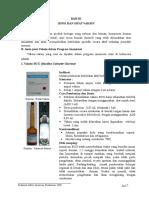 Bab III, Jenis & Sifat Vaksin X