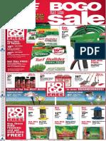 Seright's Ace Hardware April BOGO Sale