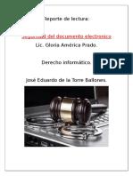 Seguridad Del Documento Electronico