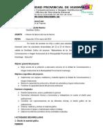 Informe Nº 01 - Febrero