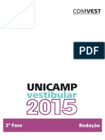 Redacao Unicamp Com 2015