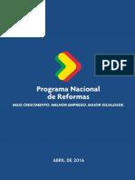 Programa de  Reformas