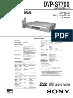 DVP-S7700