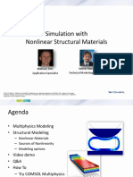 Simulation With Nonlinear Structural Materials Asme Webinar