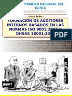 Formación de Auditor Interno -Uns