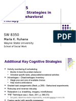 sw8350-session 5 -additional strategies in cognitive therapy-2013 1