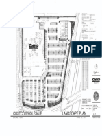 costco on coit landscaping plan