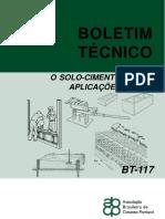 Boletim Técnico o Solo-cimento e Suas Aplicações Rurais