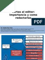 Cartas Al Editor. Importancia y Como Redactarla