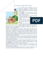 Fábula de La Liebre y La Tortuga