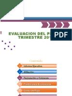 Evaluacion Del Primer Trimestre 2016