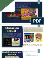 Presentacion de Educación Sexual