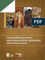 Guia Demedidas Preventivas Parabienes Culturales Ante Amenazas Sismicas