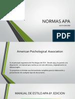 Normas APA 6ta. Edición