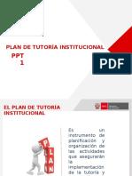 PLAN DE TUTORIA INSTITUCIONAL   13-1-16.pptx