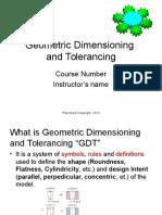 General GDT Information