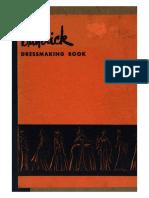 Butterick Dressmaking Book - 1940