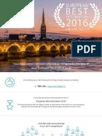 European Best Destinations 2016