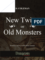 New Twists on Old Monsters D&D 5th Edition Homebrew