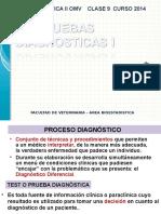 Clases 9 2014 Pruebas Diagnosticas i