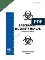 Laboratory Biosafety Manual-WHO