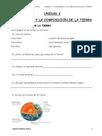 UNIDAD 2 La Dinámica y La Composición de La Tierra