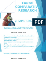 Causal Comparative Research - Copy
