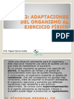 Tema 2. Adaptaciones Del Organismo Al Ejercicio Físico 2015