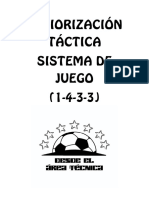 Periorización Táctica (1-4-3-3)
