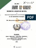 Gougenot Des Mousseaux Roger - Le Monde Avant Le Christ