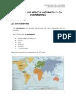 u 5 Los Continentes