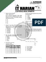 Latihan Soal Kimia SBMPTN