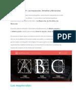 Teoría tipográfica