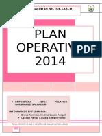Plan Operativo Final Para Centro de Salud