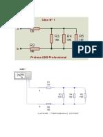 simulaciones de circuitos