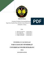 proposal kegiatan pelatihan keterampilan pengelasan