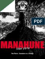 MANAHUNE TOUR 2016