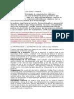 Definición de Medicina Legal y Forense - Sem -2