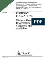 Company Formations