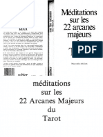 Tomberg Valentin Arnoldevitch - MÚditations Sur Les 22 Arcanes Majeurs Du Tarot